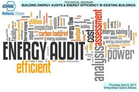 Ενεργειακοί Ἐλεγχοι και Ενεργειακή Αποδοτικότητα Υφισταμένων Κτιρίων - ASHRAE