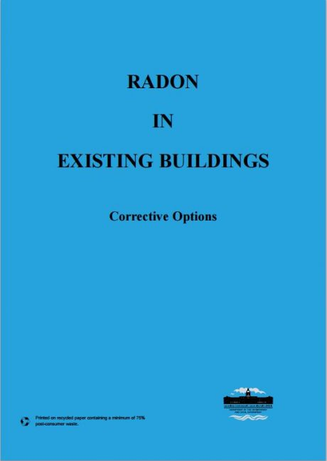 Radon in existing buildings: Corrective options