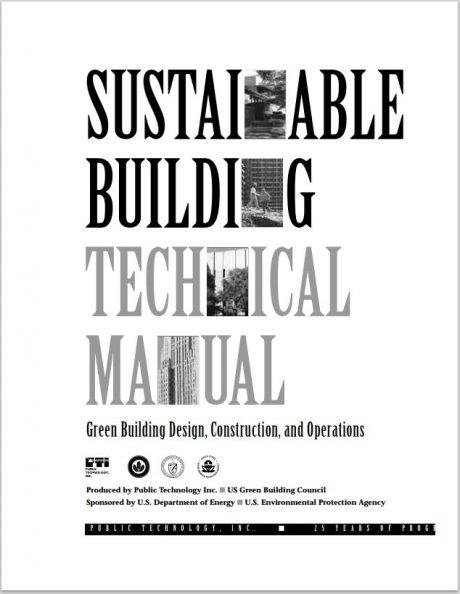 Sustainable Building Technical Manual