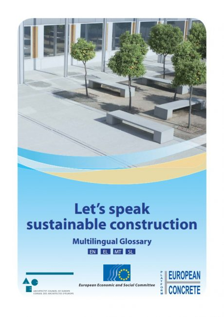Let's speak sustainable construction – Multilingual Glossary