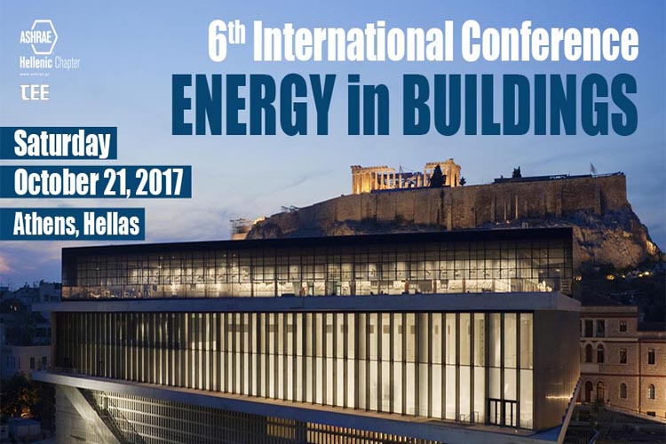 ENERGY in BUILDINGS 2017 International Conference